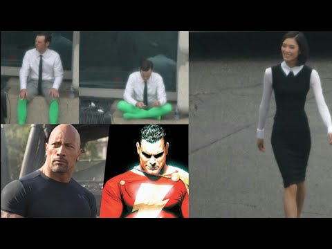 More Scoot McNairy Batman v Superman Photos! Dwayne Johnson Talks More Shazam!
