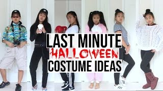 Video 7 SUPER LAST MINUTE CHEAP&EASY DIY HALLOWEEN COSTUMES IDEAS! download MP3, 3GP, MP4, WEBM, AVI, FLV Maret 2018