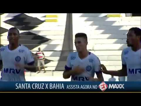 Todos Os Gols - Santa Cruz 0 X 1 Bahia - 14/02/2016