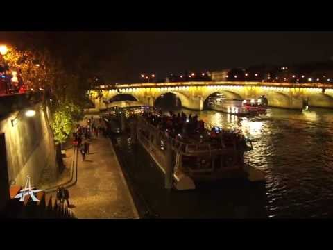 feu de bateau quais de seine paris 1er arrondissement youtube. Black Bedroom Furniture Sets. Home Design Ideas