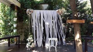 Свадьба. Зона встречи гостей.