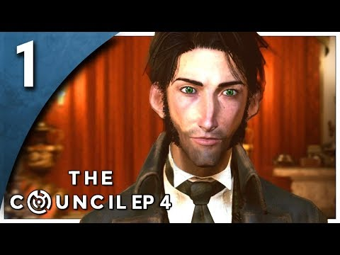 Let's Play The Council Episode 4 Part 1 - The Crypt [Burning Bridges PC Gameplay]