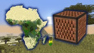 Toto - Africa (Minecraft Note Block Cover) Video