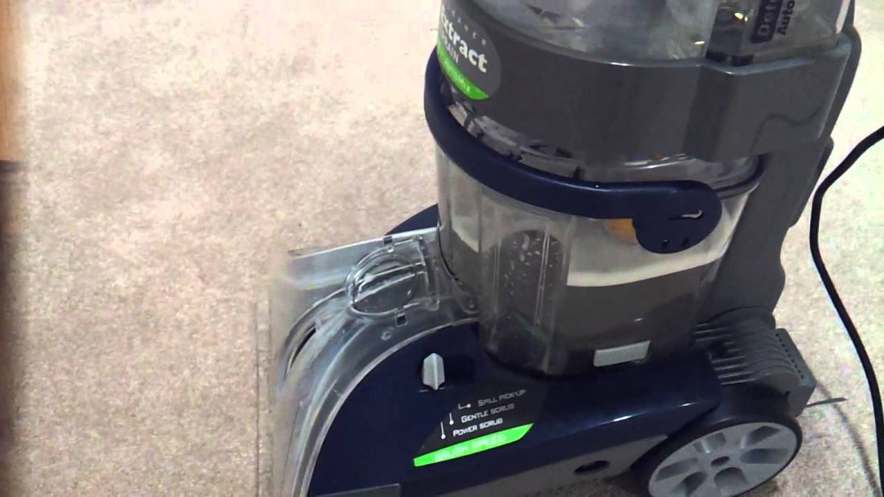 Hoover All Terrain Carpet Cleaner Review Youtube