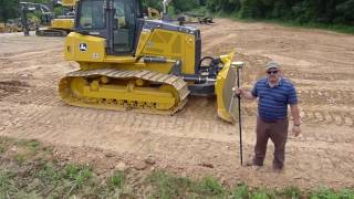 How to set up and operate a bulldozer using GPS blade control