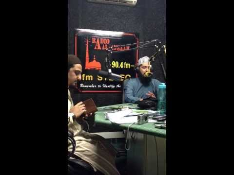 Dr Nisar marfani in South Africa Durban live on al ansar radio