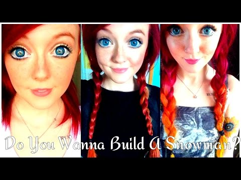 Do You Wanna Build A Snowman? - Cover and Anna Tutorial | EMZsings - Punk Disney