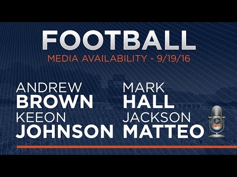 FOOTBALL: Press Conference - Players 9/19/16