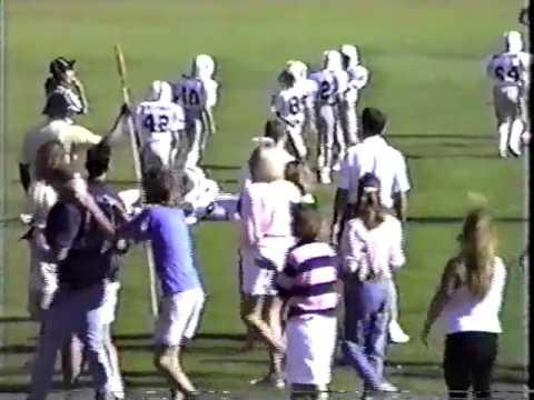 Rustlers vs Raiders Pop Warner 1988