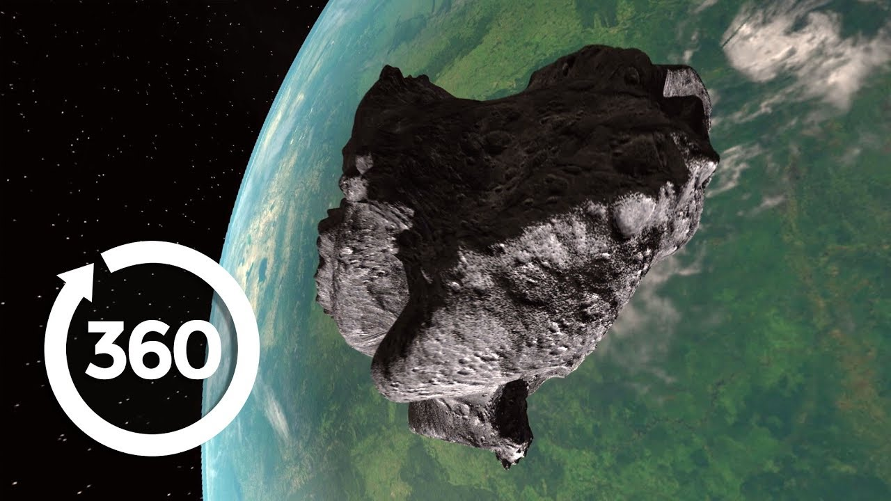 Witness The Day The Asteroid Struck In Jaw-Dropping Virtual Reality! (360 Video)