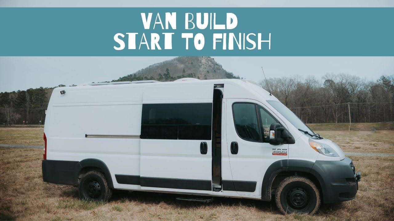 DIY Camper Van Build in less than 7 MINUTES | Start to Finish Conversion