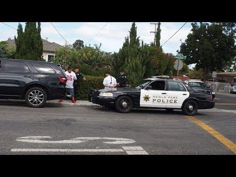 Menlo Park Police Intimidation
