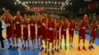 MACEDONIA - FOPOY 72 : 58     basketball 2011 year in Lithuania