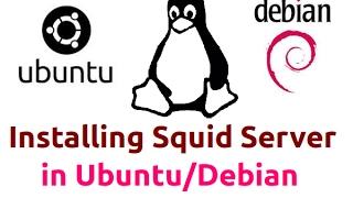 Squid Proxy Server Setup and other settings (Ubuntu 14.05)