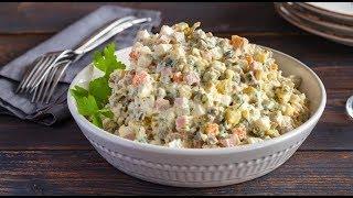 Салат Оливье, вкусный домашний рецепт / Салат Олів'є / Olivier Salad