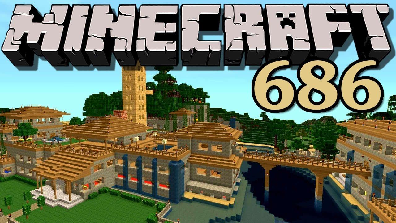 Minecraft 686 Uhr Und Landkarte Debitor Youtube