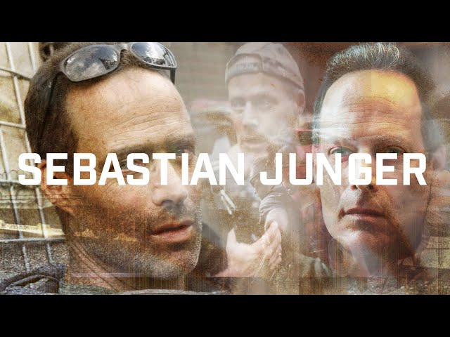 Sebastian Junger: Journalist, Bestselling Author of The Perfect Storm, and Co-Director of Restrepo