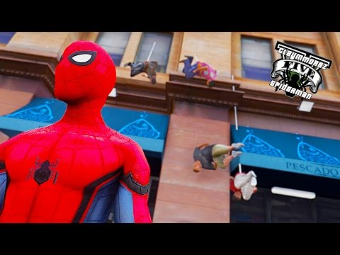 Spiderman First LSPDFR ! Spiderman VS Green Goblin ! (GTA 5 Spiderman Mod Gameplay)🕷️