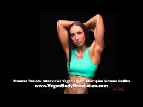 Simone Collins 1 of 3 | Vegan Self-Taught Champion Figure Competitor