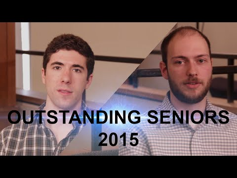 Communication and Media Studies Department: Outstanding Seniors 2015