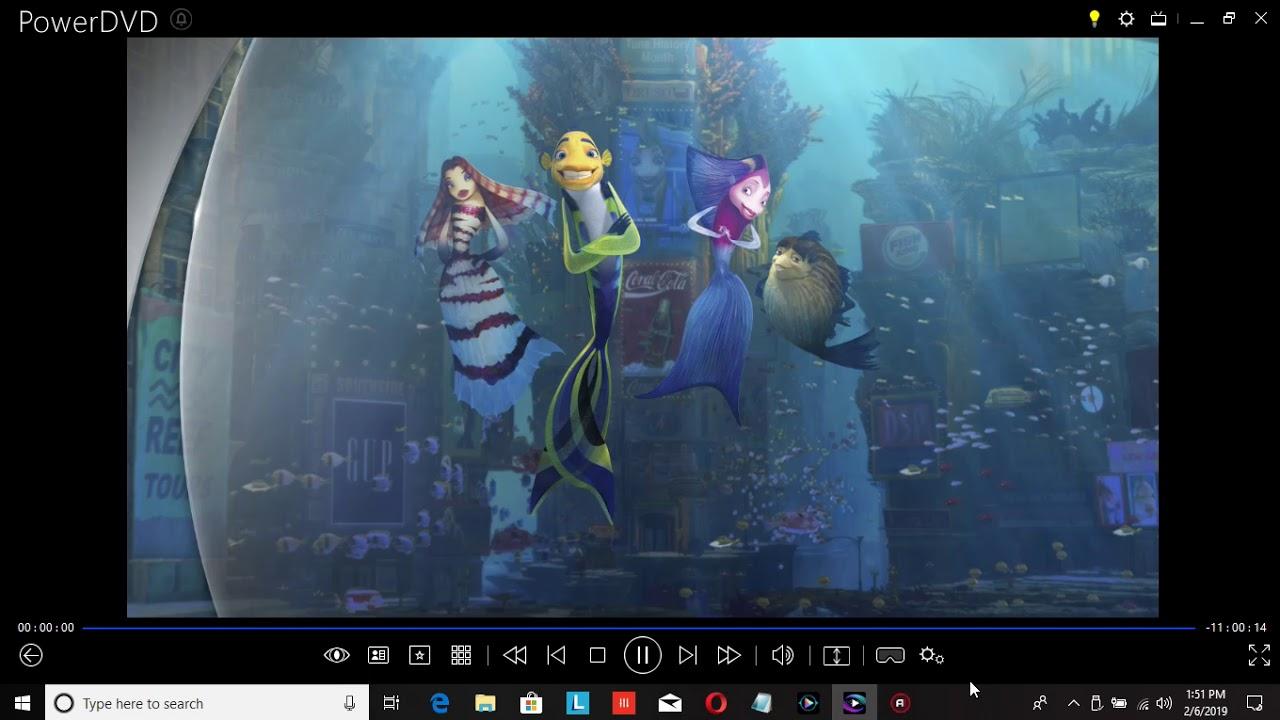 Download Shark Tale 2019 Blu-ray Menu Walkthrough