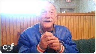 The Big Reveal to Grandpa   Adorable and Touching Reaction