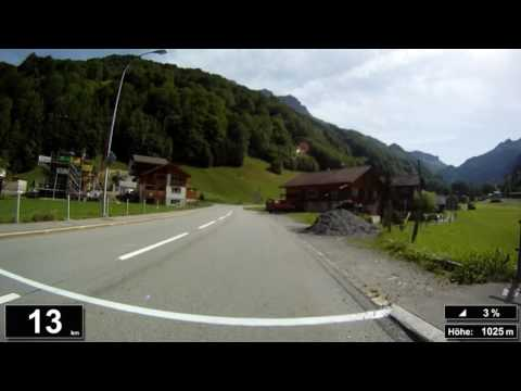 Indoor Cycling Training: Klausenpass (Suisse / Alps) - in full length!!! (Part 2/3)