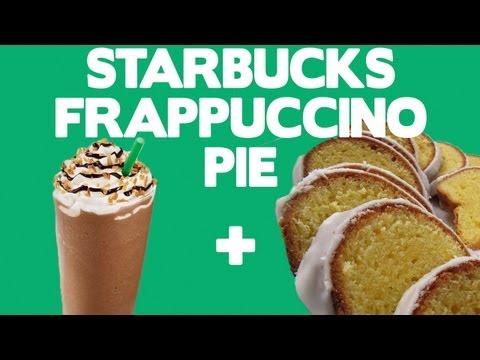 Sweet & Simple Starbucks Frappuccino Pie - Food Mashups