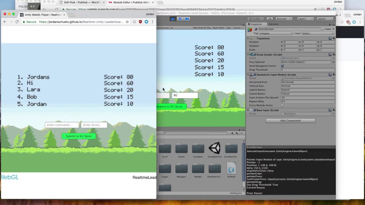 How to Build Realtime Leaderboards and Highscore Streaming in Unity