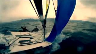 49er Sailing Boat (Slow Motion Effect)