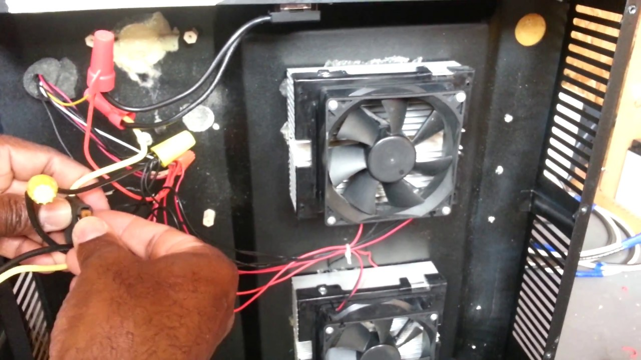 How To: Add an On/Off Switch to a Peltier / Thermoelectric Fridge ...