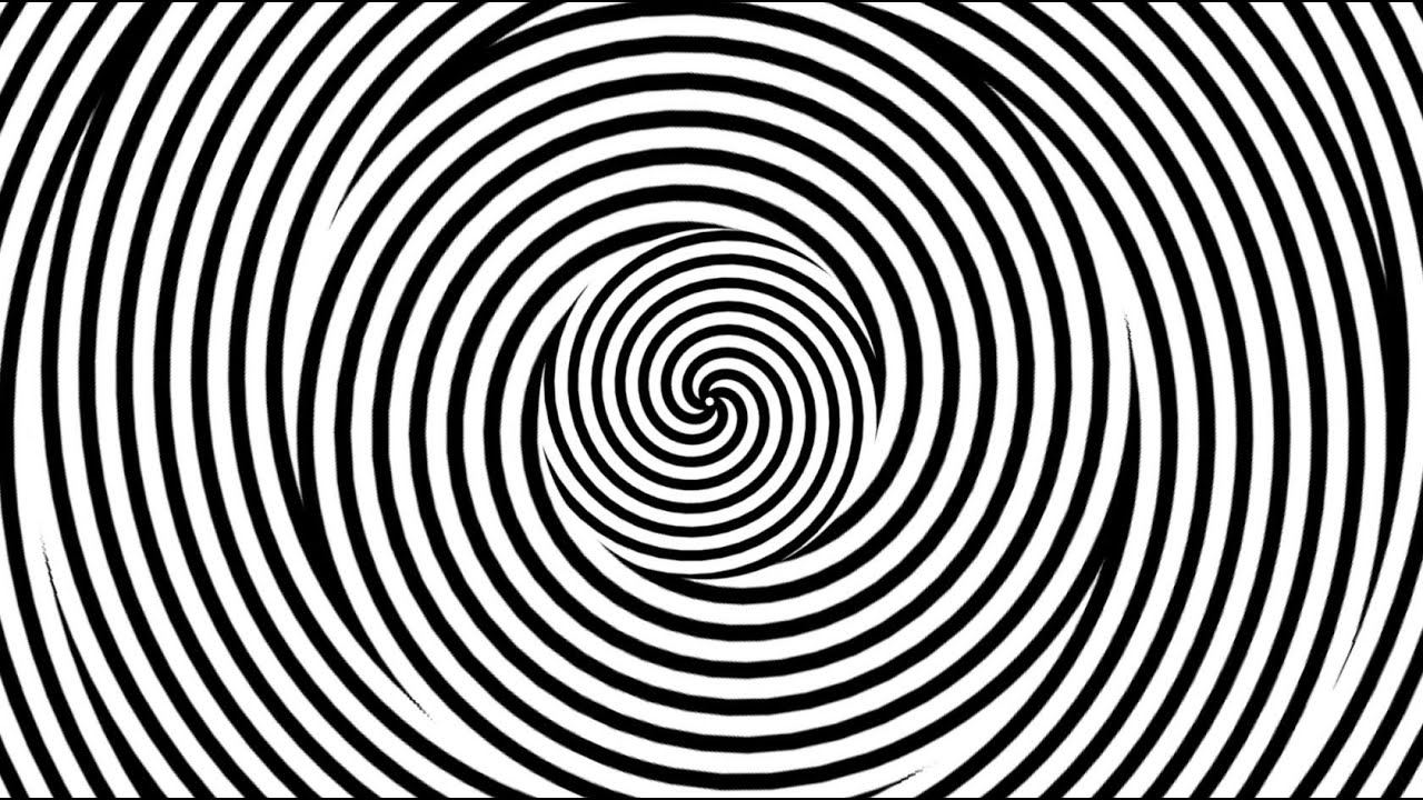 how to draw spiral illusion