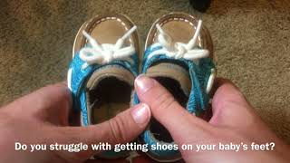 Did you know Sperry Baby shoes do this?