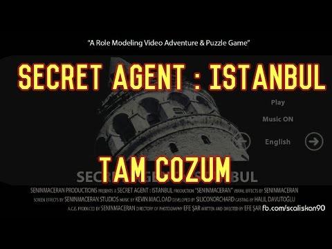 Secret Agent : İstanbul Tam Çözüm