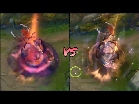 Prestige Dark Star Malphite VS Dark Star Malphite