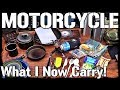 Motorcycle Camp Cooking Gear System