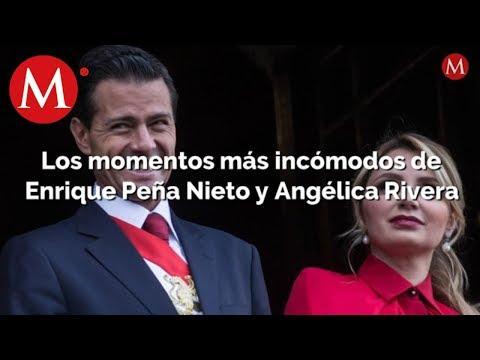Los momentos más incómodos de Enrique Peña Nieto y Angélica Rivera