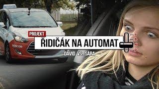 SÁRY PRVNÍ JÍZDA V PRAZE | ŘIDIČÁK NA AUTOMAT | JAK NA AUTOŠKOLU