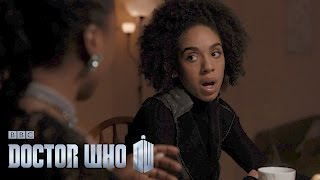 Ruining Bill's first date - Extremis - Doctor Who: Series 10 Episode 6 - BBC One