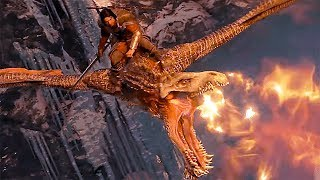Shadow of War - NEW Gameplay Dragon, Spiders and Ghuls