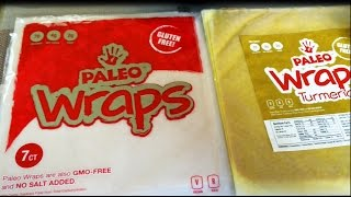 Coconut Paleo Wraps (low Carb / Gluten Free / Ketogenic)