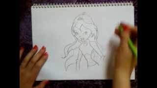 Winx club Bloom drawing ♥