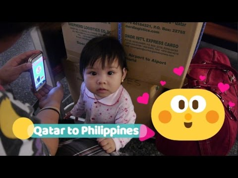 Doha Qatar to Philippines | Qatar Airways | Traveling with a Toddler
