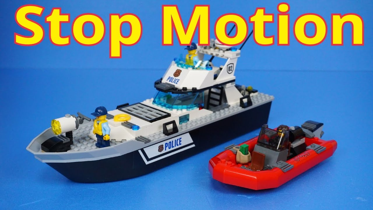 Image Result For Lego City Police Boat Build Review