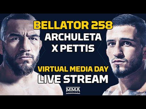 Bellator 258: Archuleta vs. Pettis Virtual Media Day LIVE Stream - MMA Fighting