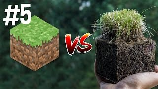 Minecraft vs Real Life 5