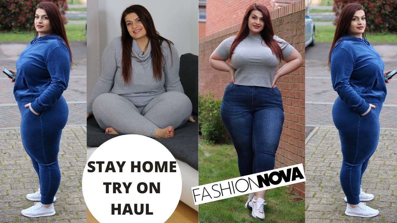 Fashion Nova Curve Lounge Wear Try On Haul