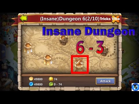 Castle Clash - Insane Dungeon 6-3