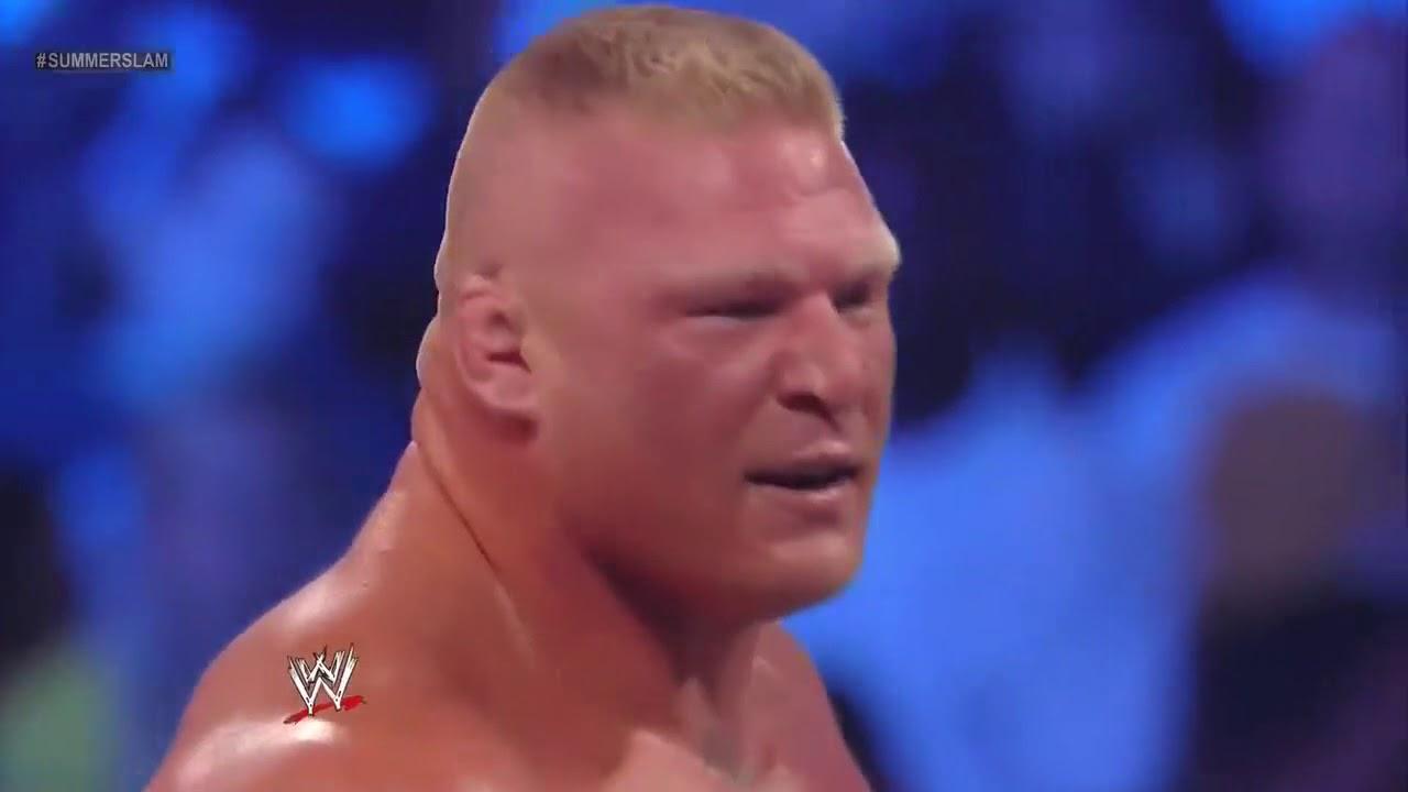 Download Brock Lesnar vs CM Punk   Video Dailymotion