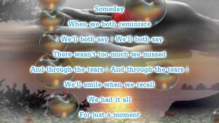 David Foster - Just For A Moment (Lyrics)